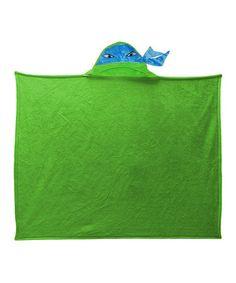 This Teenage Mutant Ninja Turtles Hooded Throw Blanket by Teenage Mutant Ninja Turtles is perfect! #zulilyfinds