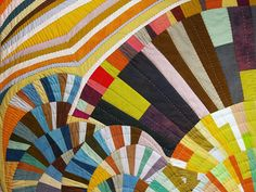 Mod-Mood Quilt, Summer 2010, detail by daintytime, via Flickr - such freedom