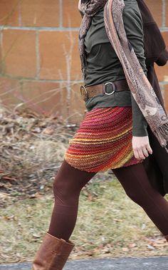 Lanesplitter Skirt - join the Dirty Skirty knitalong here:  http://www.ravelry.com/discuss/loopalicious/2505007/1-25#10