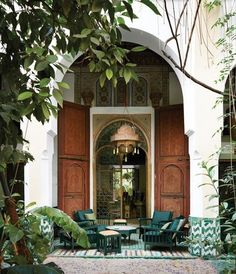 An Exclusive Tour of a French Iconoclast's Moroccan GetawayIn a corner of Marrakech's medina, Bernard-Henri Lévy has restored and expanded the Palais de la Zahia—a place to retreat to with his wife, Arielle Dombasle, while communing with the riad's storied past