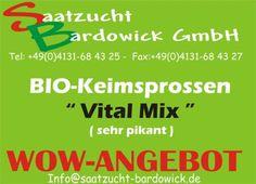 500g Vital Mix Bio Keimsprossen Keimsaat Saatgut Sprossen BioSprossen Samen Saat | eBay
