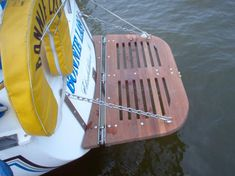 This particular sailboat restoration can be an inspirational and wonderful idea