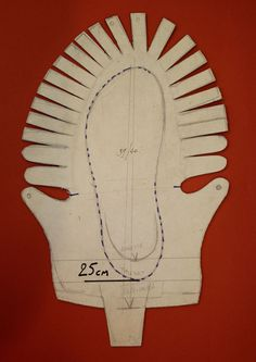 Celtic Shoe Template