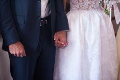 And so the adventure begins… #realbride #bridal #meglam #Santorini #summervows
