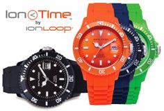 The Ion Time smart sports watch is the NEW affordable product that provides the same benefits of Negative Ions + Magnets that people have come to rely on in all IonLoop® products. This Ion Time Smart Sports Watch promotes health & well-being simply by wearing it each day. Cost: $85.  Available at www.ionloop.com.