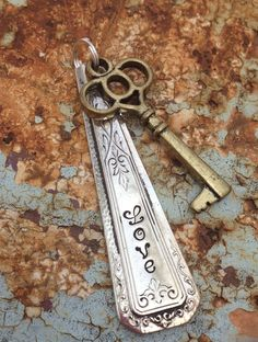 ViNTaGe uPCyCLeD SPooN FoRK JeWeLRy PeNDaNT  by JuLieSJuNQueTiQue, $12.00