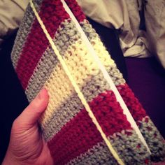 Cool crocheted book cover