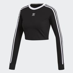 adidas Women - T Shirts Cute Swag Outfits, Sporty Outfits, Sporty Style, Mode Outfits, Stylish Outfits, Fashion Outfits, Tee Courts, Mode Adidas, Adidas Outfit