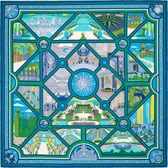47f5a3b37fb1 810 meilleures images du tableau carré Hermès   Hermes scarves, Silk ...