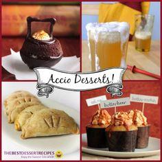 Accio Desserts! 10 Magical Harry Potter Recipes | TheBestDessertRecipes.com