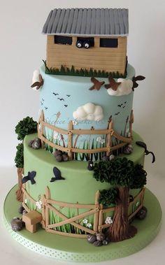 Bird watching cake