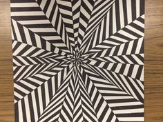 Op Art and Colored Pencil Tutorial - Art 1 Optical Illusions Drawings, Illusion Drawings, Illusions Mind, Optical Illusion Art, Op Art Lessons, Opt Art, Arte Linear, 8th Grade Art, Ecole Art