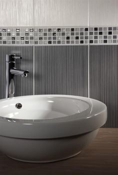 ditto light dark grey 24 8x49 8cm wall tiles by british ceramic