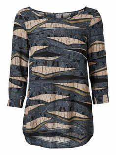 WP - BLIXEN 3/4 SL TOP #veromoda #print #jungle #fashion #style