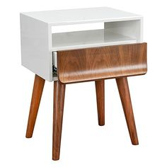 Add contrasting colour and clever shape to your bedroom décor with the Harbrow Bedside Table, Walnut from Calibre. Walnut Bedside Table, Bedroom Decor, Shapes, Clever, Colour, Furniture, Amp, Home Decor, Color