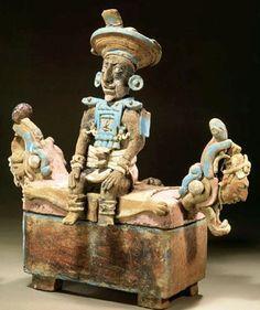 escultura maya front
