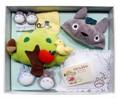 Amazon.com : My Neighbor Totoro Baby Gift Set : Baby Toy Gift Sets : Toys & Games