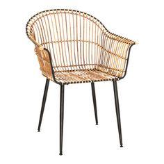 chaise à accoudoirs CEBU · Pfister Cebu, Rattan, Wicker, Furniture, Home Decor, Products, Outdoor, Motorbikes, Chair