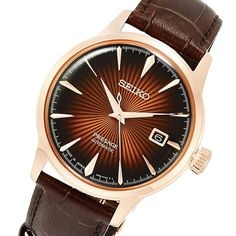 SARY128 Seiko Presage Watch Seiko Presage, Seiko Automatic, Seiko Watches, Stainless Steel Case, Jdm, Omega Watch, Watches For Men, Jewels, Leather