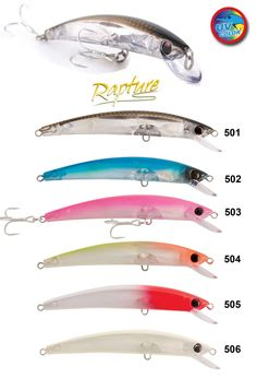 Esca Artificiale Rapture Sapphire Minnow 110 mm 13g  - EUR 11.50