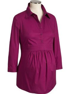 Old Navy Maternity Shirtcollar Tops