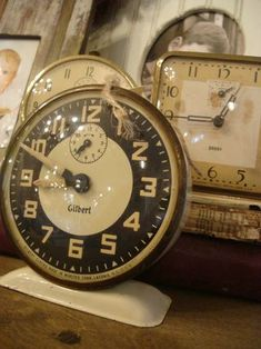 Love old alarm clocks