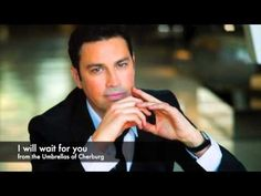 I Will Wait For You - Mario Frangoulis (from the Umbrellas of Cherbourg) All Songs, Best Songs, Umbrellas Of Cherbourg, Michel Legrand, Jacques Demy, Cyprus News, Pasadena California, Will And Grace, Catherine Deneuve