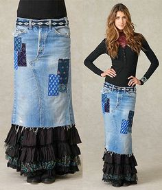 denim skirts 18