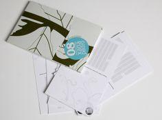 X&P convite - Colecção de Postais by Ricardo Costa, via Behance