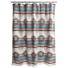 Awesome Carstens Inc. Badlands Southwest Shower Curtain