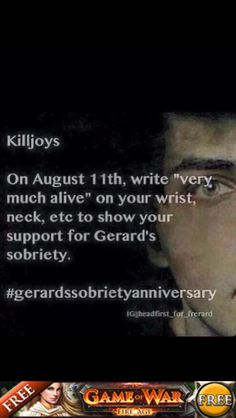 THIS IS TOMORROW LETS DO THIS KILLJOYS MAKE SOME NOISE.<<I will be very disappointed in myself if I don't..