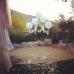 balloon canopy // geronimo!