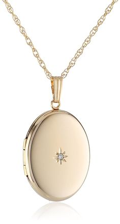 Shop a great selection of Yellow Gold-Filled Oval Locket Diamond-Accent, 20 . Find new offer and Similar products for Yellow Gold-Filled Oval Locket Diamond-Accent, 20 . Pandora Necklace, Locket Necklace, Gold Necklace, Diamond Necklaces, Diamond Jewelry, Necklace Packaging, Picture Necklace, Gold Locket, Jewelry Showcases