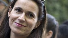 France. La ministre de la Culture, Aurélie Filippetti, lors de la Fête de la musique, le 21 juin à 2014, à Paris. | Kenzo Tribouillard / Afp