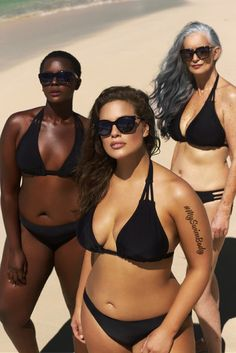 Philomena Kwao, Ashley Graham and Nicola Griffin star in swimsuitsforall campaign