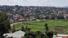 Residential area. Kigali