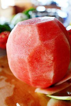 Watermelon Pico de Gallo by Ree Drummond / The Pioneer Woman, via Flickr