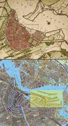 Proyecto urbanístico de Borneo Sporenburg en Amsterdam | La reconversión de los muelles orientales como espacios residenciales