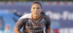 Hope Solo, the best women's keeper in the world.