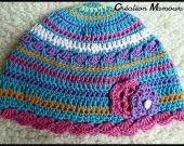 Un chapeau en 24 mois très coloré