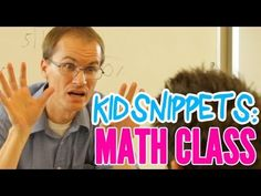 "Kid Snippets: ""Math Class"" (Imagined by Kids) - this happens every time i try helping kids with math!!"