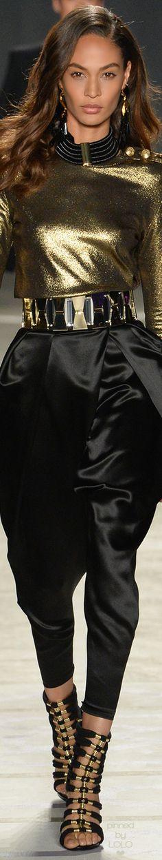 Joan Smalls for Balmain x H&M Collaboration | LOLO❤︎