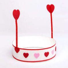 Fun Kid's Valentine Hat Craft