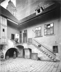 Vienna, Pramergasse 1900