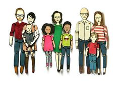 personalized paper dolls custommade to look by JordanGraceOwens, $35.00