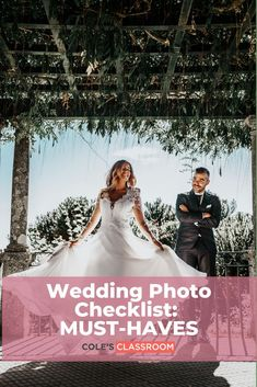 Don't want to miss a moment of the bride and groom on their wedding day? This photography checklist will help you from getting ready all the way through to the reception and grand exit. #colesclassroom #bride #photographytips #weddingchecklist Wedding Photo Checklist, Wedding Photo List, Wedding Photography Checklist, Creative Shot, Groom Getting Ready, Groom And Groomsmen, How To Take Photos, Wedding Pictures, Reception