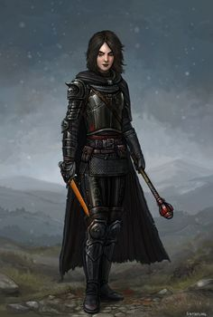 Lady Antipaladina Blackguardess by SirTiefling.deviantart.com on @DeviantArt