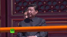 Парад победы в Пекине, посвященный 70-летию окончания Второй мировой войны