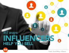 5 Ways Influencers Help You Sell (Social Selling) #influenceurs #commerce #vad