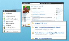 Schoology: It's a very powerful tool that can help teachers create and organize lesson materials and connect with their students.